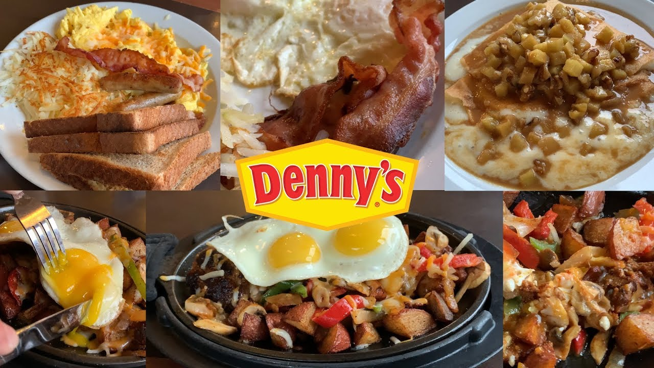 When travelling I can always rely on breakfast at Denny's