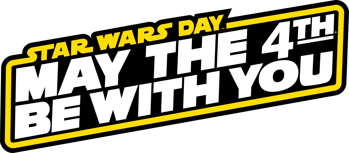 """May the 4th be with you!"""" & my response """"And with your spirit"""